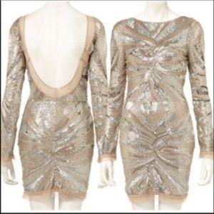Body Con Sequin Dress by Zara